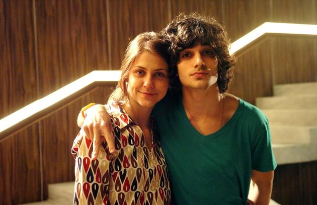 Em 2010, Cristiana Peres era a mocinha da vez e fazia par romântico com Fiuk (FOTO: Zé Paulo Cardeal/TV Globo)