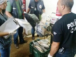 Mercado foi interditado em ação em Gravataí (Foto: Divulgação/Polícia Civil)