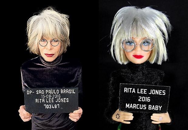 Rita Lee e sua boneca  (Foto: Divulgação)