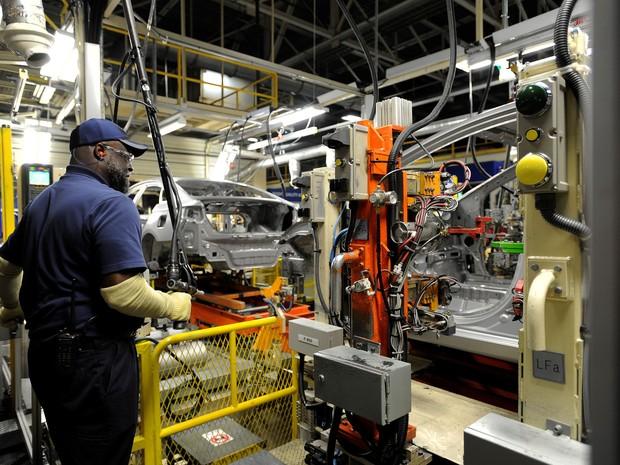 Fábrica da Hyundai no Alabama, nos Estados Unidos (Foto: Divulgação)