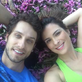 Eliéser Ambrósio e Kamilla Salgado (Foto: Reprodução/Instagram)