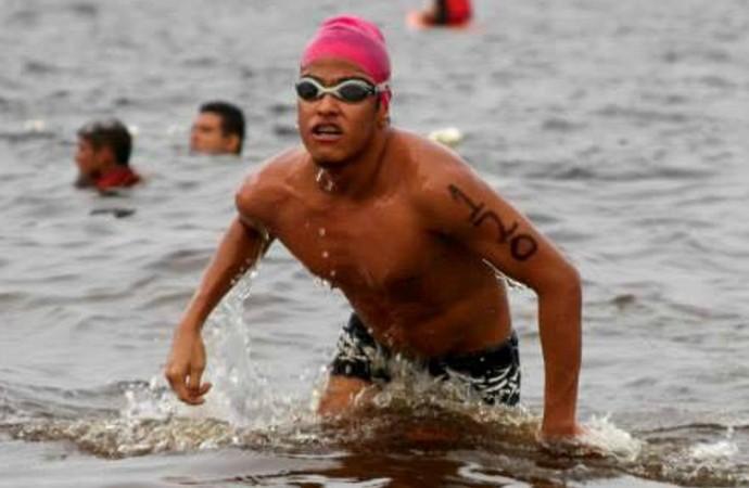 Nadador do Amazonas, Vitor Gadelha (Foto: Divulgação/Sport Digital)