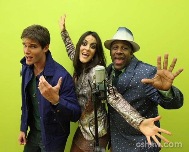 Finalistas do Artista Completão se divertem na última semana de ensaio (Foto: Carol Caminha/TV Globo)