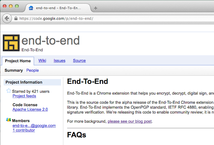 Nova extensão End-to-End permitirá criptografar qualquer e-mail (Foto: Reprodução/Edivaldo Brito)