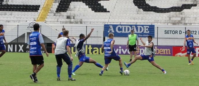 Treino do Comercial (Foto: Gabriel Lopes / Comercial FC)