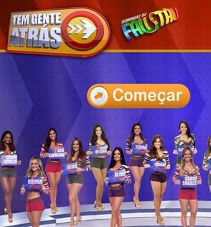 Só para feras! Jogue aqui o game exclusivo do Tem Gente Atrás (Domingão do Faustão / TV Globo)