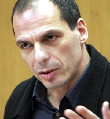 Yanis Varoufakis, ministro de Finanças da Grécia (Foto: Pantelis Saitas/EFE)