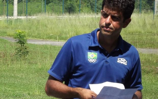 Hóquei sobre a grama, Claudio Rocha (Foto: Gabriel Torres / Globoesporte.com)