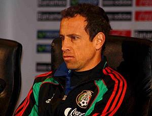 Torrado, jogador México em coletiva (Foto: Rafael Pirrho / Globoesporte.com)
