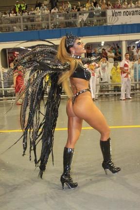 Cacau Colucci no carnaval em São Paulo (Foto: Orlando Oliveira /AgNews)