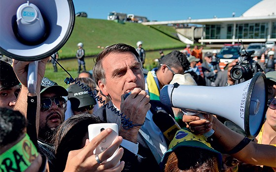 Deputado Jair Bolsonaro (Foto: Ricardo Botelho/Brazil Photo Press/Folhapress)