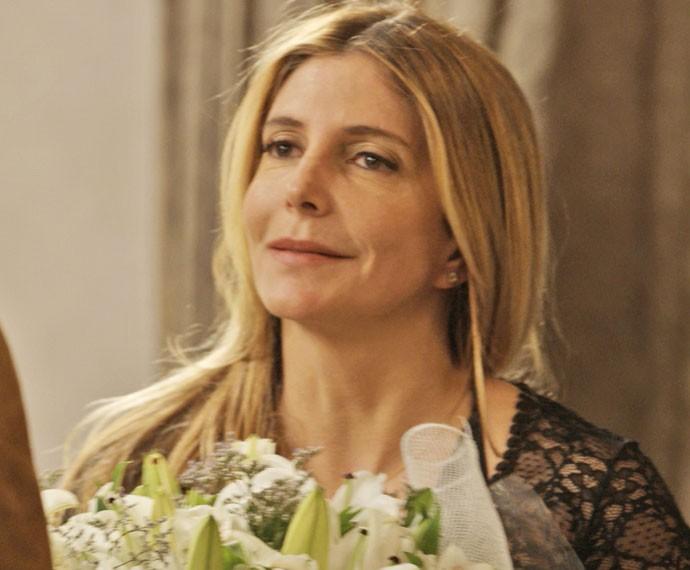 Maria Padilha na pele de Claudine (Foto: TV Globo)
