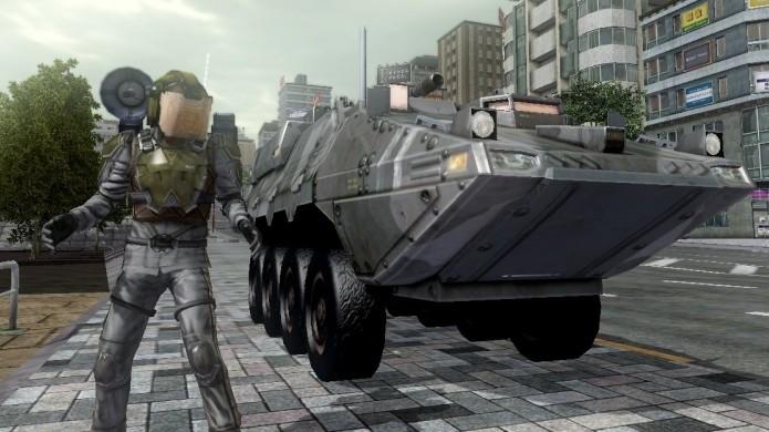 O apoio de um Air Raider pode facilitar as missões, mas é bem difícil jogar com ele (Foto: gamepodunk.com)