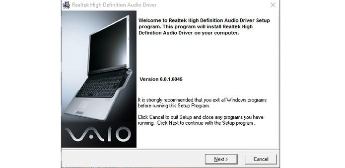 Reinstale a versão completa do driver no computador e reinicie a máquina (Foto: Reprodução/Barbara Mannara)