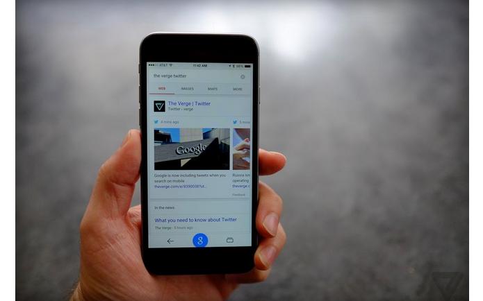 Tuítes já aparecem em resultados de pesquisas no Google feitas pelo celular (Foto: Divulgação)