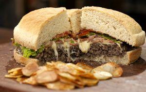 Receita de hambúrguer caseiro do Rodrigo Hilbert