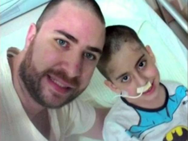 Gustavo ficou 19 dias internado após atropelamento (Foto: Reprodução / TV Tem)
