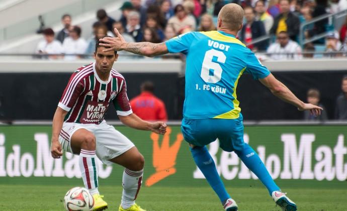 Fluminense x Colonia (Foto: Bruno Haddad / Fluminense FC)