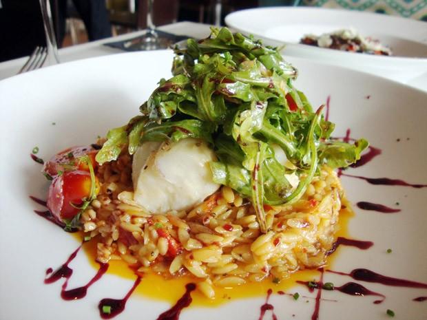Risoto de tomates cereja e seco (Foto: Chef Eudes Nascimento - Restaurante Margutta Ipanema/GNT)