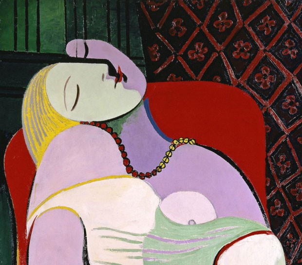 Le Rêve (The Dream), Picasso - janeiro de 1932 (Foto: Divulgação)