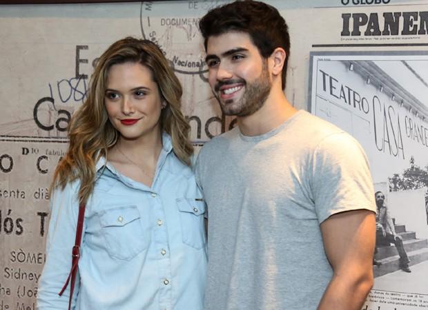 Juliana Paiva e Juliano Laham (Foto: Roberto Filho/Brazil News)