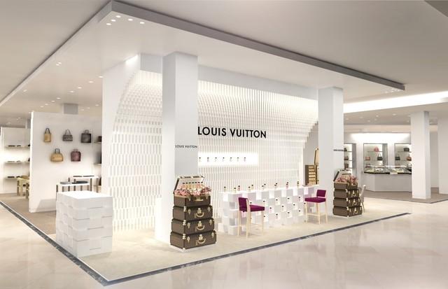 Sneak peek de loja pop-up da Louis Vuitton  (Foto: Divulgação)