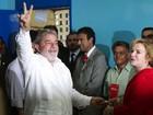 Lula vota e descarta participar de eventual governo Dilma