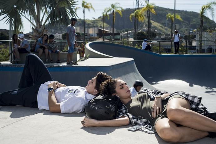 Rodrigo e Ciça descobrem afinidades (Foto: Ellen Soares/Gshow)