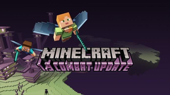 Voar por uma nova cidade de Endermen no The End é apenas uma das novidades da atualização 1.9 de Minecraft (Foto: Reprodução/VG247)
