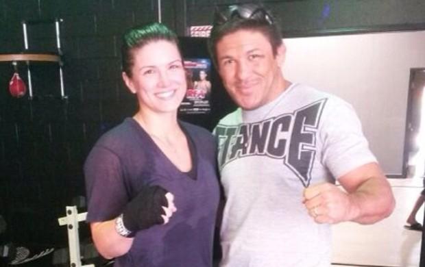 MMA Gina Carano e Sérgio Junior (Foto: Instagram)