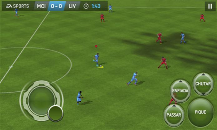 FIFA 15 é a nova versão do simulador de futebol onde jogador deve montar a equipe mais forte  (Foto: Foto: Divulgação/Windows Phone Store)