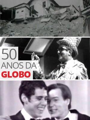 Em abril de 1965, entrava no ar a ZYD-81, TV Globo, canal 4, Rio (Editoria de Arte/G1)