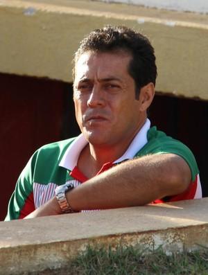Maurílio Silva, técnico do Alecrim (Foto: Gabriel Peres/Divulgação)