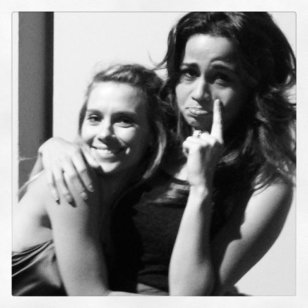 Carolina Dieckmann e Nanda Costa (Foto: Reprodução/Instagram)