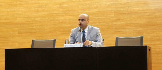 Manoel Flores, diretor de competições da CBF (Foto: Daniel Mundim)