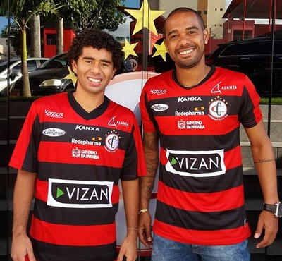 Fábio Gama, Osvaldir, Campinense (Foto: Divulgação / Campinense)