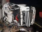 Caminhoneiro morre em acidente e BR-494 fica parcialmente interditada