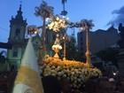Festa da Padroeira termina com procissão e missa em Aparecida, SP