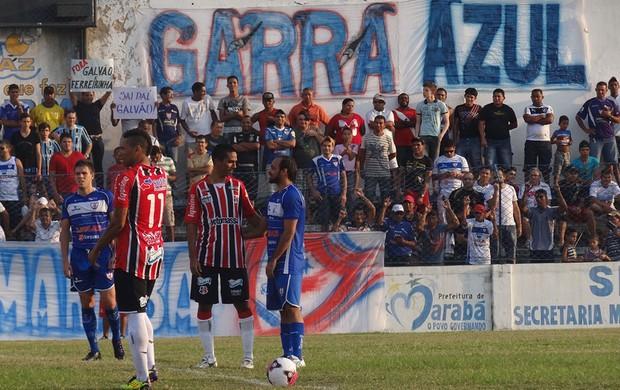 Águia x Santa Cruz (Foto: Terni Castro/Globoesporte.com/PE)