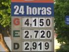 Preço da gasolina sobe durante desabastecimento em postos da PB