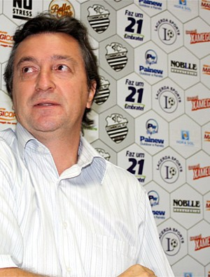 João Silvestre, supervisor de futebol do Comercial (Foto: Cleber Akamine / GLOBOESPORTE.com)