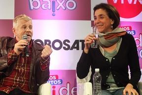 Miguel Falabella e Marisa Orth (Foto: Iwi Onodera/ EGO)