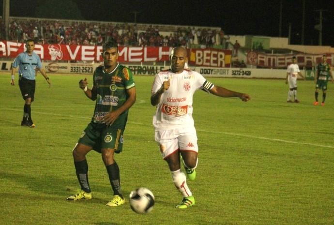 Assu x América-RN Estádio Edgarzão Campeonato Potiguar (Foto: Canindé Pereira/Divulgação)