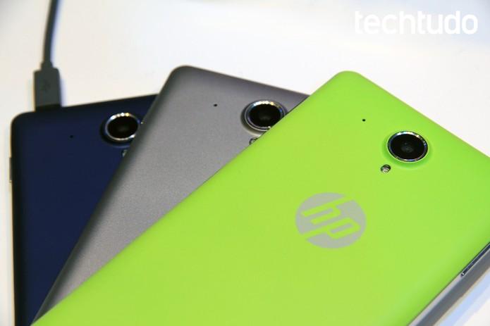 Aparelho HP Slate 6 VoiceTab conta com diversas cores (Foto: Isadora Díaz/TechTudo)