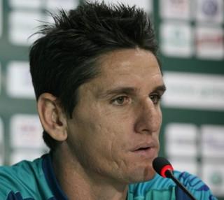 Marcinho Guerreiro tentará a quinta vitória em cinco jogos com a camisa alviverde (Foto: Rosiron Rodrigues/Goiás E.C.)