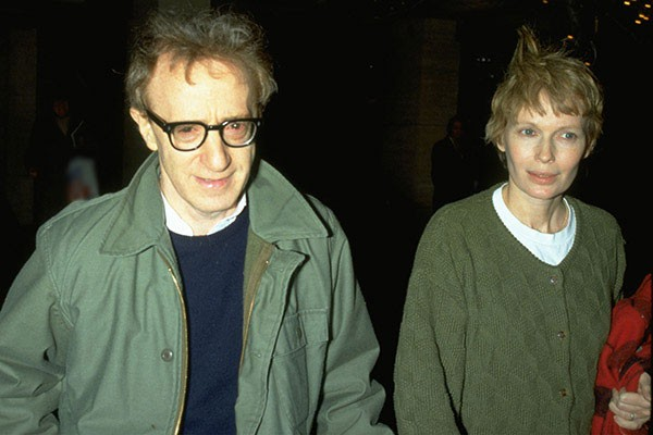 Woddy Allen e Mia Farrow (Foto: Getty Images)