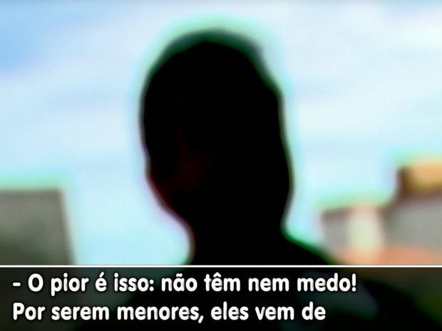 Morador de São Carlos se diz assustado com a onde de crimes nos bairros (Foto: Paulo Chiari/EPTV))