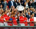 Vence e convence: Arsenal faz três no City e leva a Supercopa em Wembley