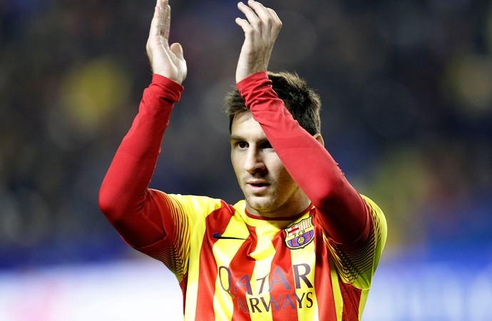 Messi, Levante x Barcelona (Foto: AP)