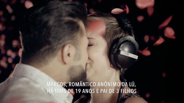 Lucilene Marchioto e Marcos (Foto: Reprodução)